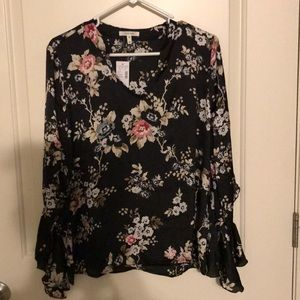 Maurices Floral Blouse!